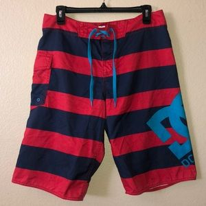 EUC Mens DC swim shorts size 32